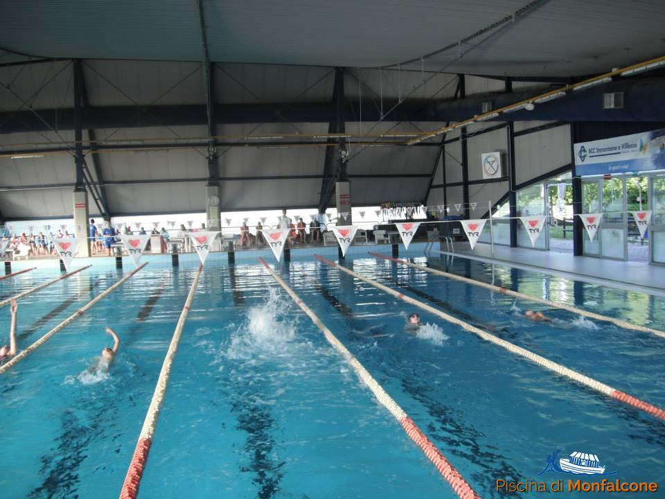 Vasca Da 25 Metri Tempi : Vasche ed impianto sportivo piscina di monfalcone